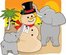 Free Sahara Christmas Stock Image - 3745961