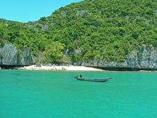 Free Long Tail Boat, Thailand Royalty Free Stock Images - 3746639