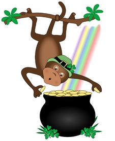Free Leprechaun Monkey Royalty Free Stock Photography - 3747107