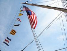 Free Tall Ships Sail Royalty Free Stock Photo - 3747375