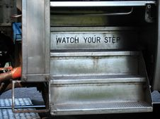 Free Watch Your Step Royalty Free Stock Photography - 3747427