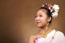 Free Smile Shy Royalty Free Stock Image - 3747446