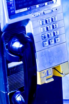 Pay Phone Royalty Free Stock Images