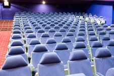Free Empty Cinema Auditorium Stock Photography - 3747962