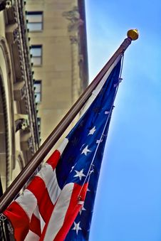 Free US Flag Royalty Free Stock Photo - 3748035