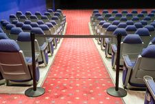 Free Empty Cinema Auditorium Royalty Free Stock Photos - 3748058