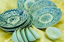 Free Chinese Porcelain Royalty Free Stock Photo - 3748095