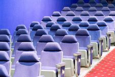 Free Empty Cinema Auditorium Royalty Free Stock Photos - 3748108