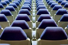 Free Empty Cinema Auditorium Stock Image - 3748181