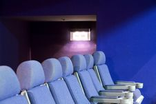 Free Empty Cinema Auditorium Royalty Free Stock Image - 3748186