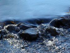 Free Water Flow Royalty Free Stock Image - 3748306