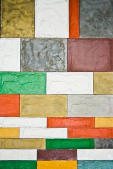 Free Decorative Tile Wall Stock Image - 3748511
