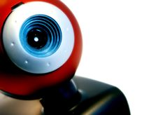 Free Red Webcam Stock Image - 3748681