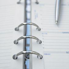 Free Pen On Calebdar Stock Photos - 3748843