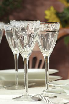 Free Two Glasses Royalty Free Stock Photo - 3748855