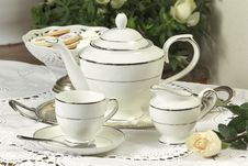 Free Tea Set 1 Stock Images - 3748894