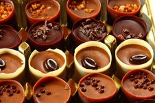 Free Chocolate Cups Royalty Free Stock Photos - 3749968
