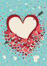 Free Heart An Arrow .Vector Royalty Free Stock Images - 37420369