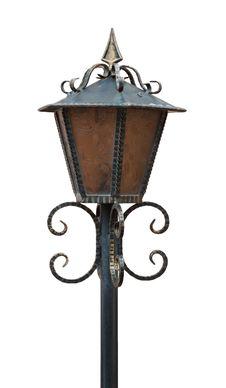 Free Vintage Streetlight Royalty Free Stock Photography - 37455907