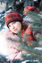 Free Winter Portrait Of Girl Stock Images - 3754924