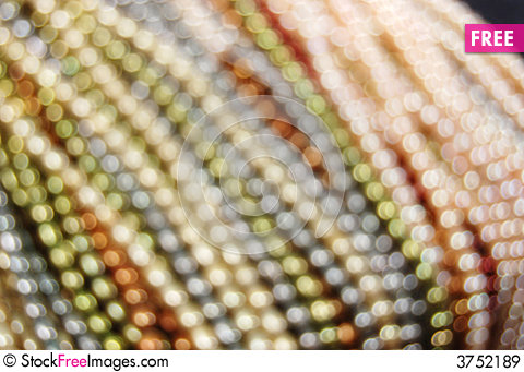 Free Colorful Pearl Strands Royalty Free Stock Images - 3752189