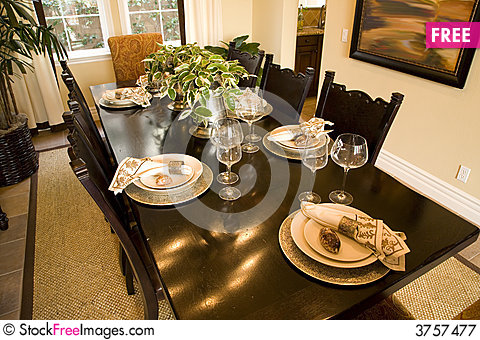 Free Dining 2515 Royalty Free Stock Photography - 3757477
