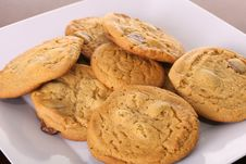 Free Chocolate Chip Cookies Stock Images - 3750044