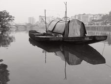 Free Boat And River Stock Photography - 3750242