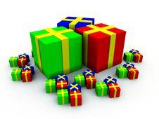 Free Many Presents 5 Stock Photos - 3750423