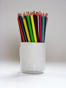 Free Color Pencils Stock Photography - 3750732