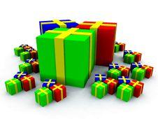 Free Many Presents 8 Stock Photos - 3750973