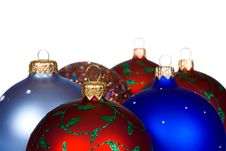 Free Mulicolored Christmas Balls Royalty Free Stock Photography - 3750977