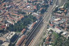 Voghera - Railway Station Stock Images