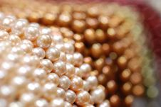 Free Colorful Pearl Strands Stock Photography - 3751682