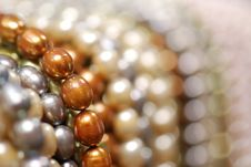 Free Colorful Pearl Strands Stock Photo - 3751940
