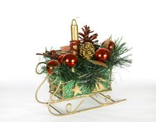 Christmas Sledge Stock Images