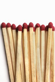 Free Wooden Matchsticks Royalty Free Stock Photography - 3752427