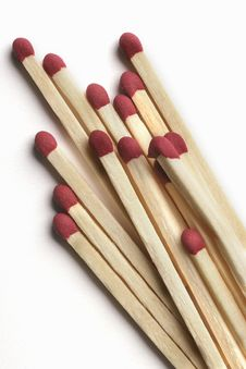 Free Wooden Matchsticks Stock Photography - 3752432