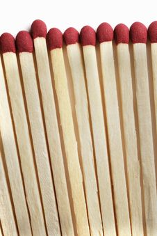 Free Wooden Matchsticks Royalty Free Stock Image - 3752446