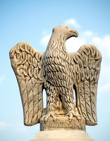 Free Eagle Sculptured In Stone Stock Photos - 3752603