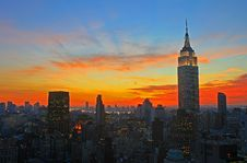 Free New York City Midtown Skyline Stock Photo - 3753670