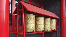 Prayer Wheels Royalty Free Stock Photography