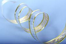 Free Golden Ribbon Royalty Free Stock Photography - 3753967