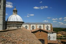 Siena, Italy Duomo Royalty Free Stock Photo