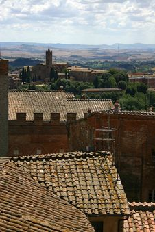 Rooftops, Siena, Italy Stock Image