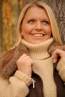 Free Girl In Autumn Stock Photo - 3756390