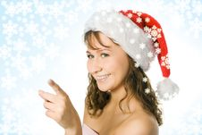 Free Girl In Red Cap Royalty Free Stock Photo - 3757885