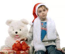 Free Santa Boy Royalty Free Stock Images - 3757989