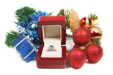 Free Romantic Gift Royalty Free Stock Image - 3758026