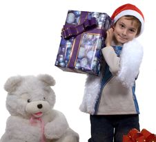 Free Santa Boy Stock Photo - 3758460